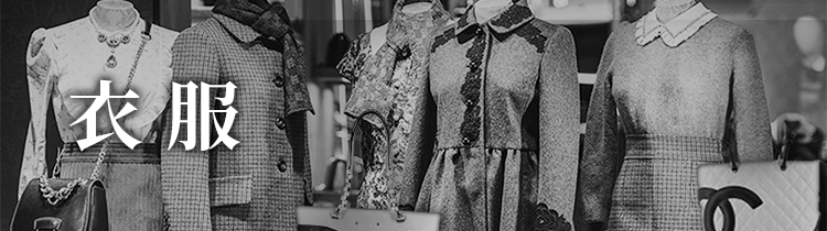 ブランド衣服を購入する