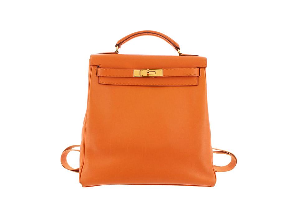 innovative design d0670 7ad8e ケリーアドGM ヴォーガリバー オレンジ ゴールド金具 A刻印