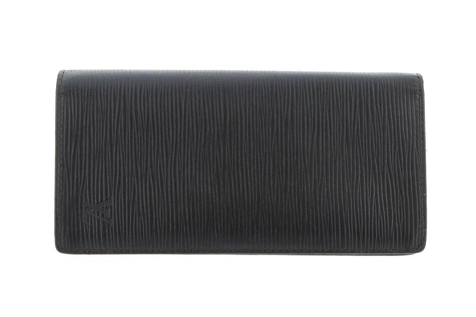 2つ折長財布 ポルトフォイユ・ブラザ 黒(ノワール) M60622
