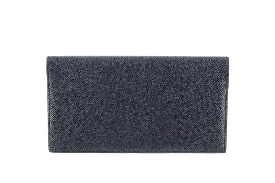 MC2フレミング エプソン ブルーインディゴ/ブルーザンジバル 2つ折長財布 札入れ