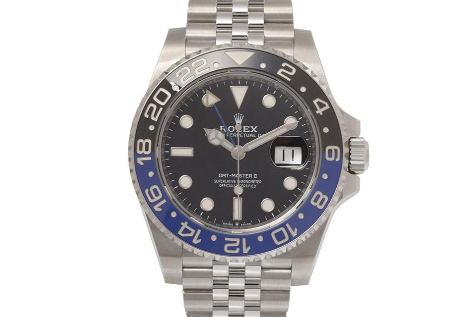 GMTマスター2 126710BLNR 黒文字盤 ランダム メンズ 自動巻き 新品同様