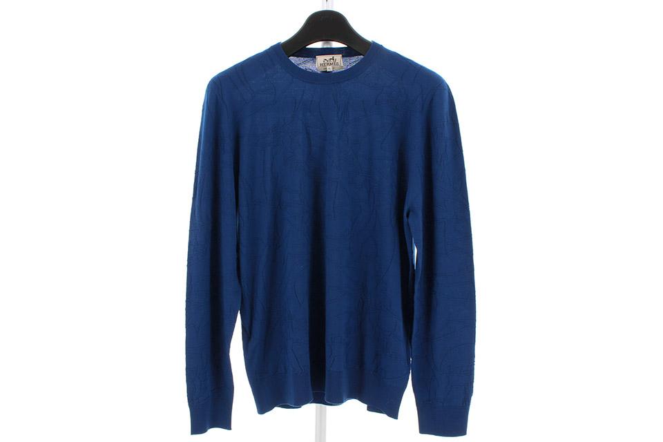 セーター ブルー メンズ XL 未使用