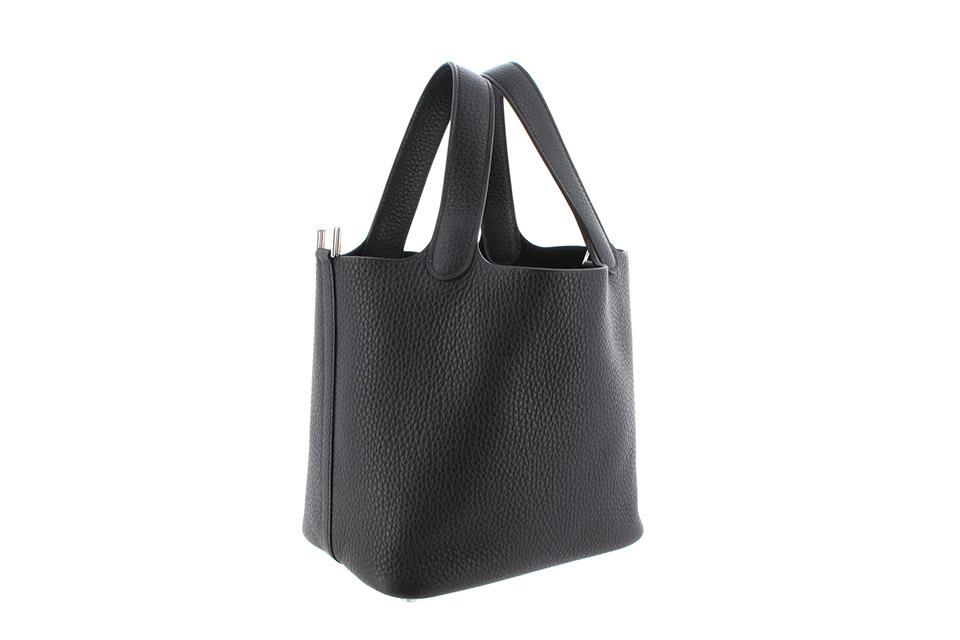 ピコタンロックPM トリヨン 黒 ブラック シルバー金具 Y刻印 新品
