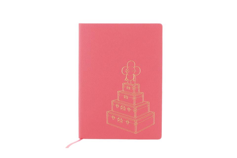ヴィヴィエンヌ 手帳 ピンク レザー ノベルティ 未使用