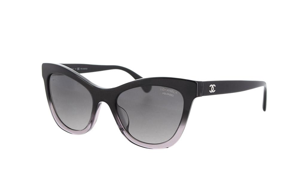 シャネルサングラス 黒 ブラック 5350-A
