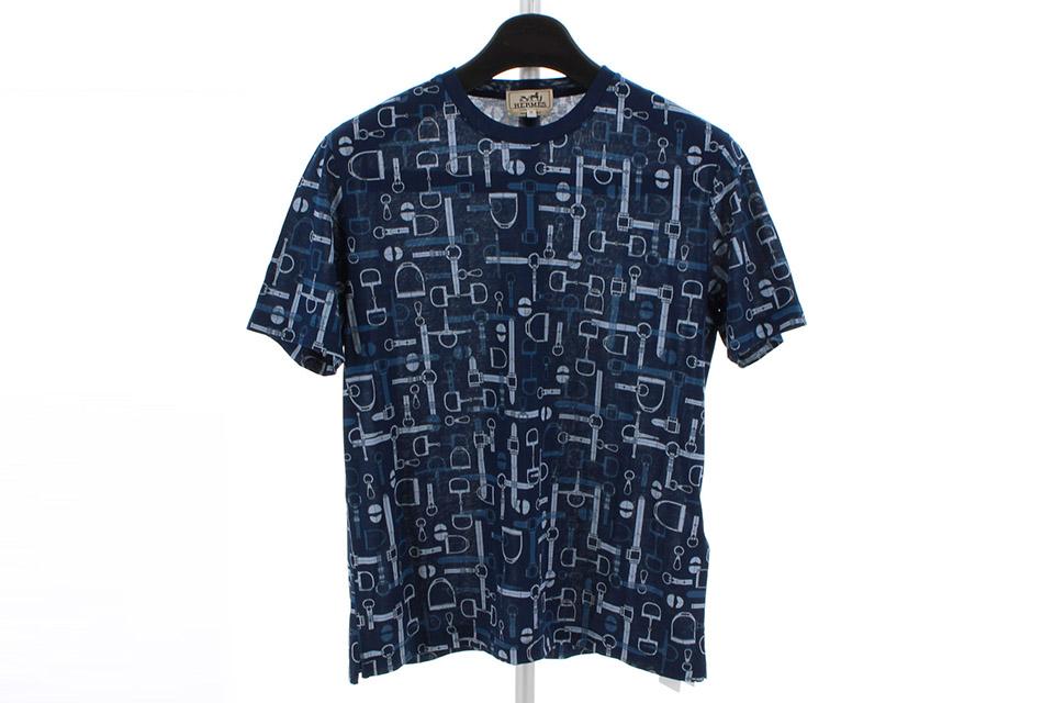 Tシャツ ネイビー/グレー コットン メンズ Mサイズ 未使用