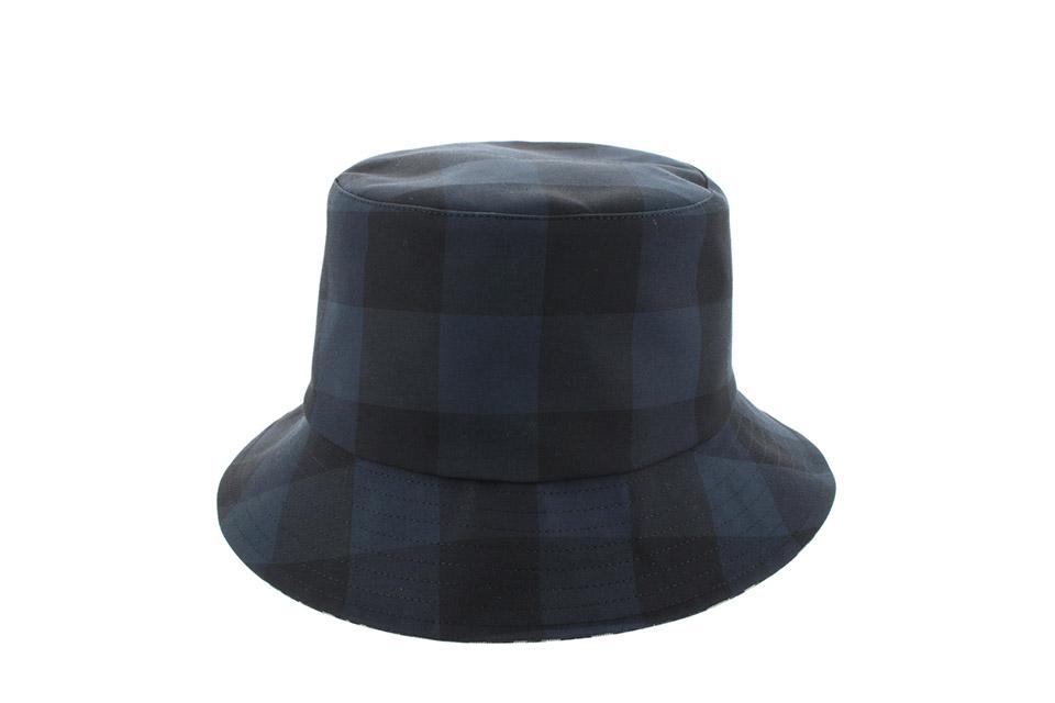 ボブハット コットンブレンド 帽子 ネイビー 未使用