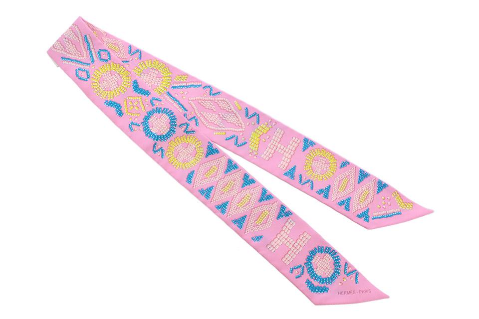 トゥイリー ツィリー ピンク シルク ケリーアンペルル 062552S 新品