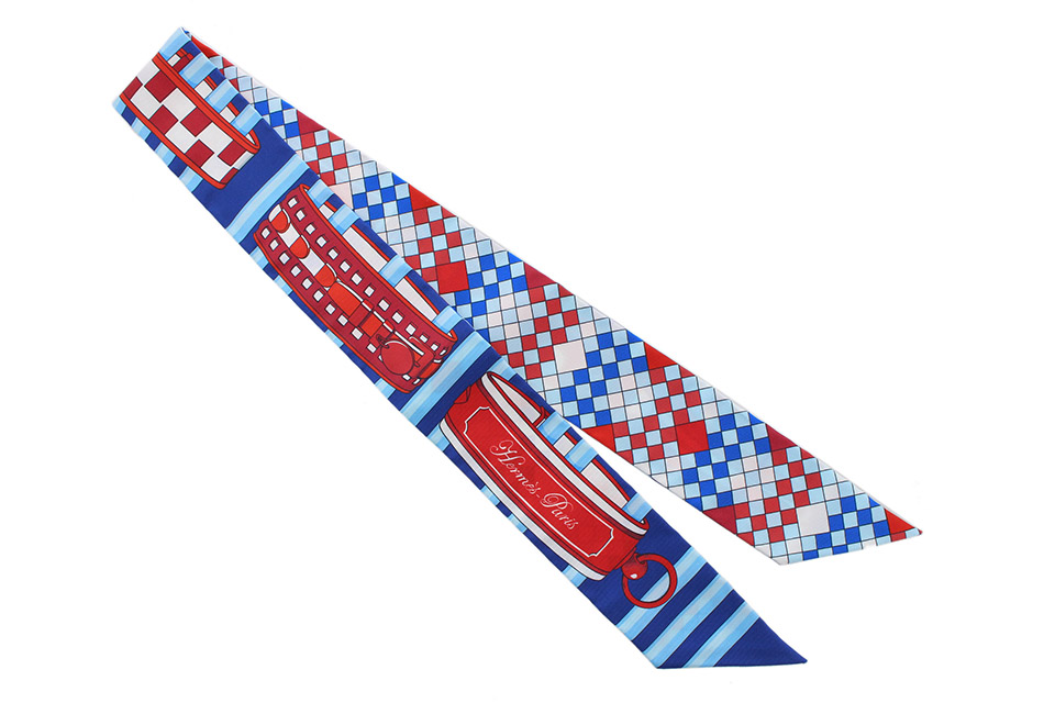 トゥイリー(ツイリー) ブルー/赤/白 新品