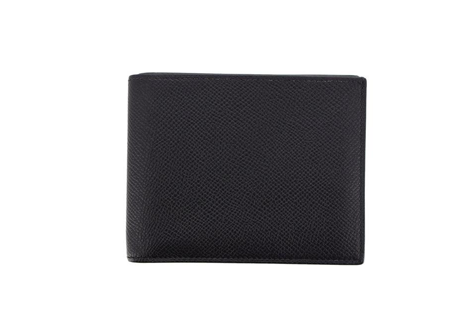 シチズンツイル コンパクト 2つ折り財布 エプソン 黒 ブラック