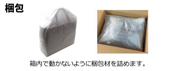 送るもの:梱包